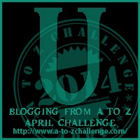 U on the A TO Z BLOGGING CHALLENGE ON THE ROAD WE'VE SHARED