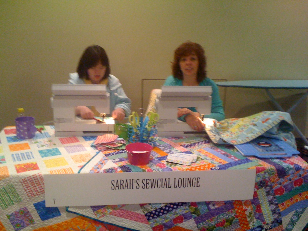 Sarah's Sewical Lounge at NDSC2014