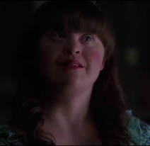 Jamie Brewer as Adelaide on American Horror Story