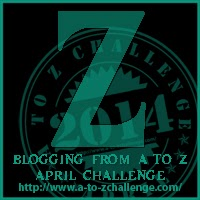 Z on the A TO Z BLOGGING CHALLENGE ON THE ROAD WE'VE SHARED
