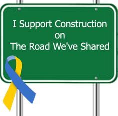 The Road We've Shared is Under Construction