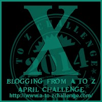 X on the A TO Z BLOGGING CHALLENGE ON THE ROAD WE'VE SHARED