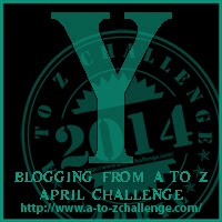 Y on the A TO Z BLOGGING CHALLENGE ON THE ROAD WE'VE SHARED