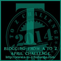 T on the A TO Z BLOGGING CHALLENGE ON THE ROAD WE'VE SHARED