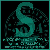 S on the A TO Z BLOGGING CHALLENGE ON THE ROAD WE'VE SHARED